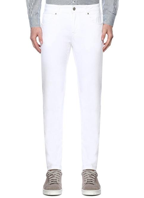 Beymen Club Jean Pantolon Beyaz